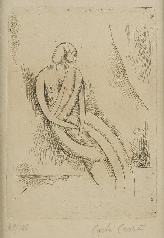 9: Carlo Carrà (Quargnento, 1881 - Milano, 1966)  Fig