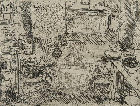 14: Luigi Bartolini (Cupramontana 1892 - Roma 1963) Lu