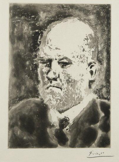 16: Pablo Picasso (Málaga,  1881 - Mougins, 1973)  Rit