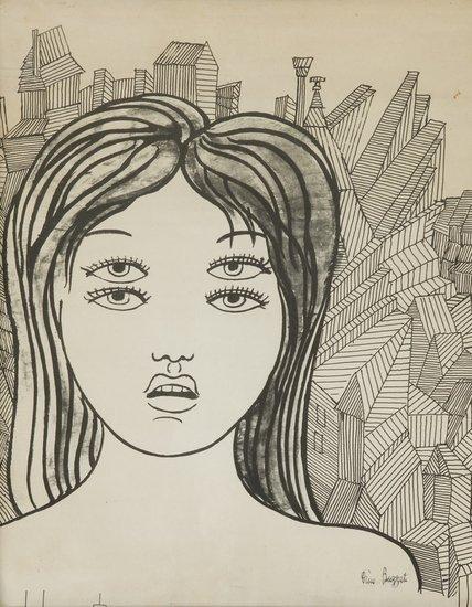 19: Dino Buzzati (Belluno, 1906 - Milano, 1972) Donna