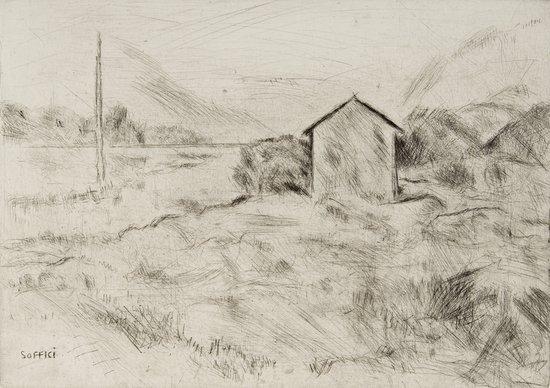 22: Ardengo Soffici (Rignano sull'Arno, 1879 - Forte d