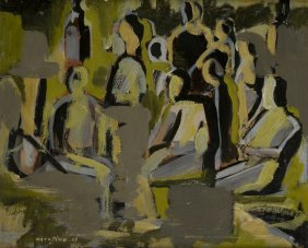 Enrico Accatino (Genova, 1920 - Roma, 2007) Caff�