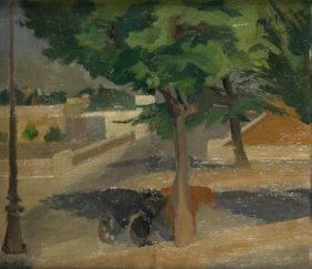 Roberto Melli (Ferrara, 1885 - Roma, 1958) Paesagg