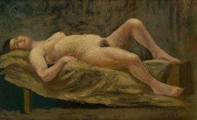 Guglielmo Janni (Roma, 1892 - 1968) Nudo Femminile
