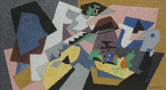 210: Gino Severini (Cortona, 1883 - Parigi, 1966) Natur