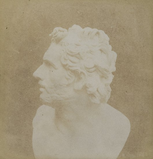 1: William Henry Fox Talbot (1800-1877) Bust of Patro