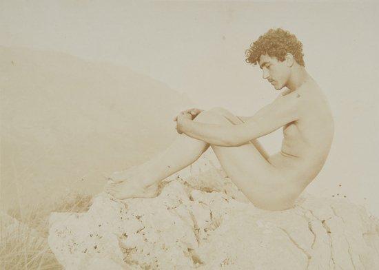 13: Wilhelm Von Gloeden (1856-1931) Cain, ca. 1910
