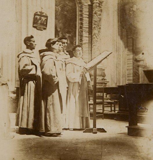 16: Luigi Primoli (1858-1925) Untiled (Priests), ca. 1