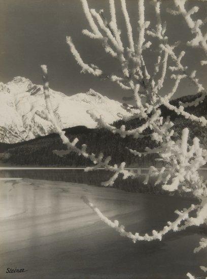 21: Albert Steiner (1877-1965) St.Moritz, ca. 1930