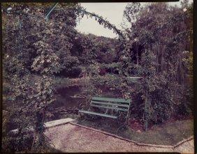 Stephen Shore (b. 1947) Giverny, Garden Bench, 198