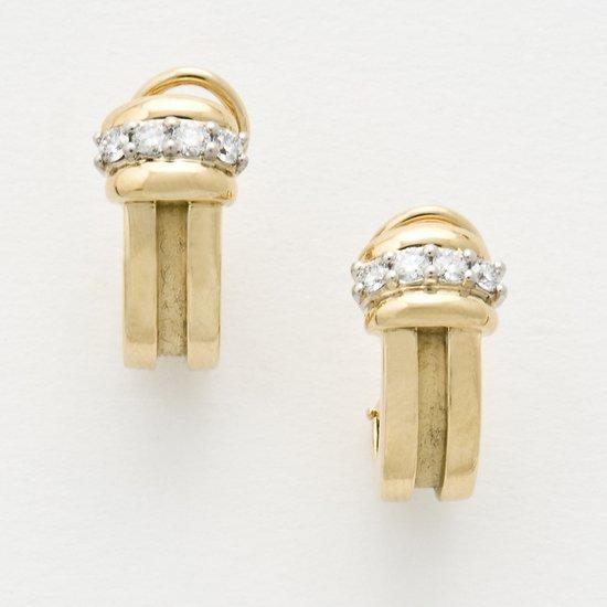 9: Orecchini in oro giallo 18 kt firmati Tiffany & Co