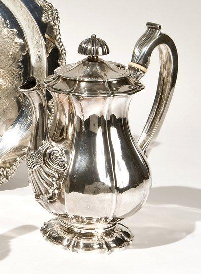 139: Teiera in argento, Dublino 1824