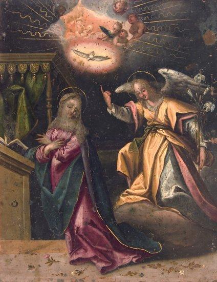 6: Attribuito a Dirck Hendricksz (Amsterdam 1542 ca.