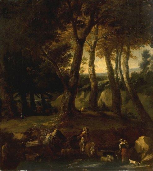 11: Attribuito a Nicolaes Berchem (Haarlem 1620 - Amst