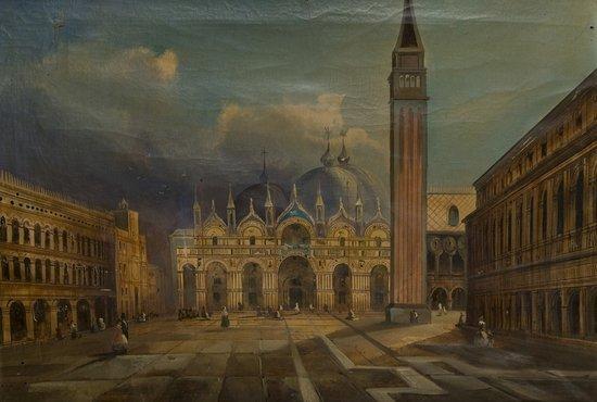 12: Maniera di Antonio Canal, detto il Canaletto Piazz