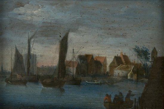 14: Scuola olandese, inizio del secolo XVIII Paesaggio