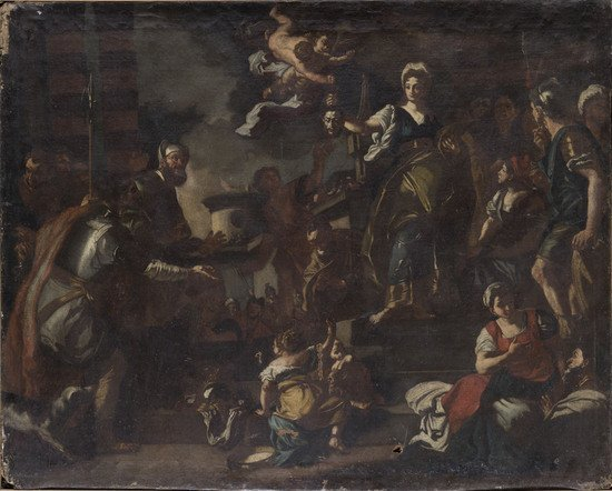 18: Studio di Francesco Solimena (Canale di Serino 165