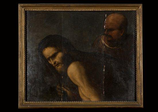 20: Scuola napoletana, secolo XVII Ecce Homo