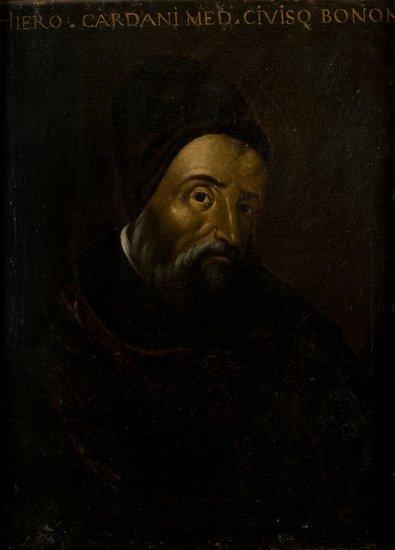 44: Scuola italiana, secolo XVII Ritratto di Gerolamo