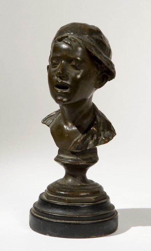 1: bronzo, altezza cm 14,5 Firmata sul retro: G. de M