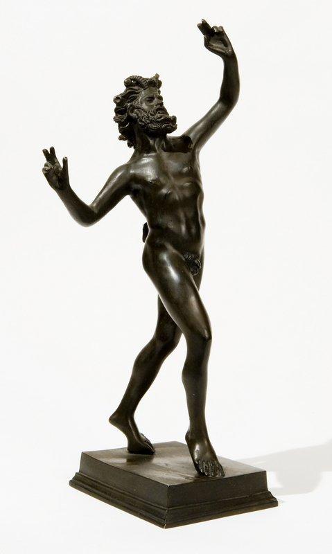 7: Copia del 'Fauno danzante' da Pompei, Fonderia Chi
