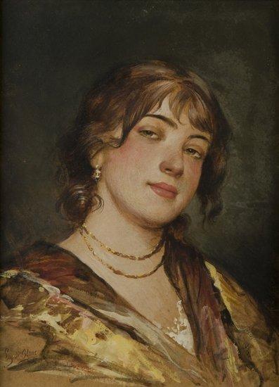 11: Eugenio De Blaas (Albano, RM 1843 - Venezia 1931)