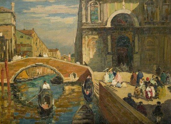 16: Erma Zago (Bovolone VR 1880 - Milano 1942) Veduta