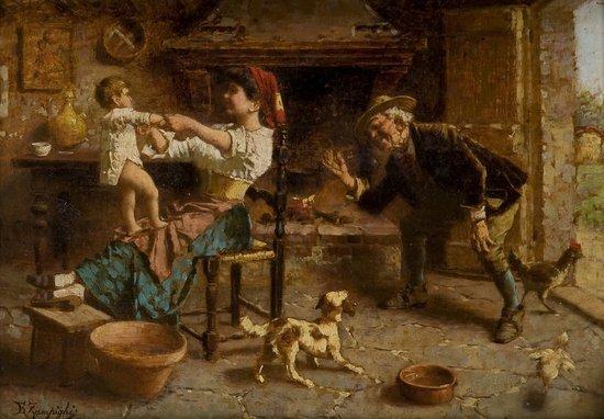 42: Eugenio Zampighi (Modena 1859 - Maranello, MO 1944