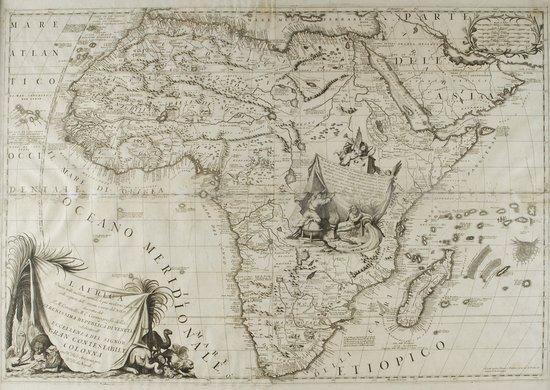 3: Africa - Coronelli, Vincenzo Maria L'Africa divisa