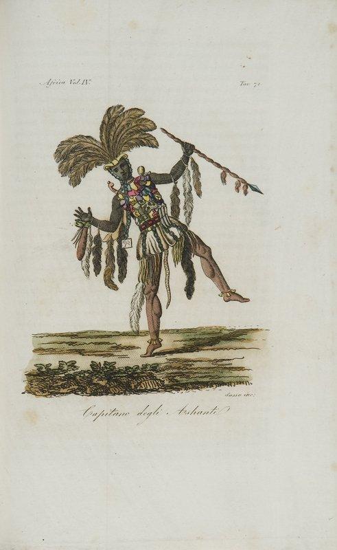 4: Africa - Ferrario, Giulio Il costume antico e mode