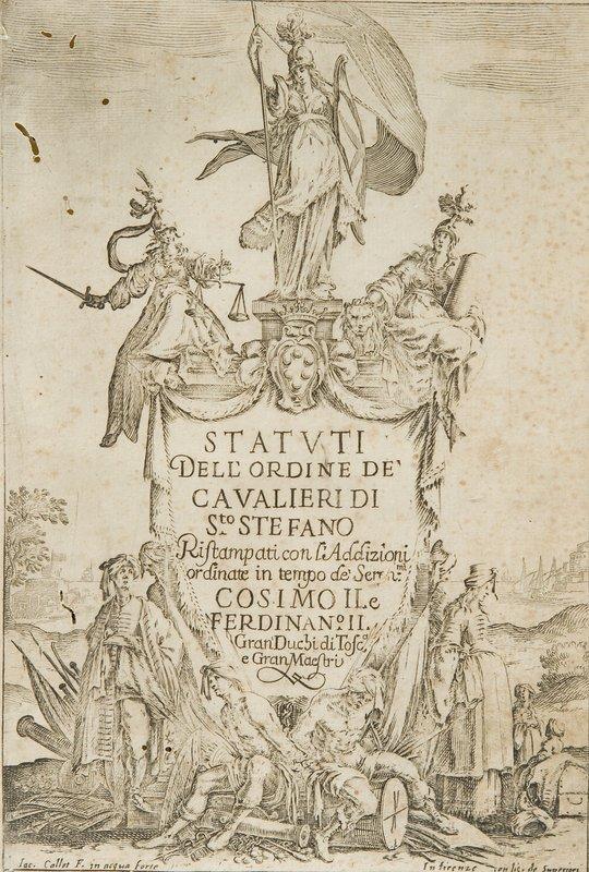 735: Ordine dei Cavalieri di Santo Stefano. Statuti e c