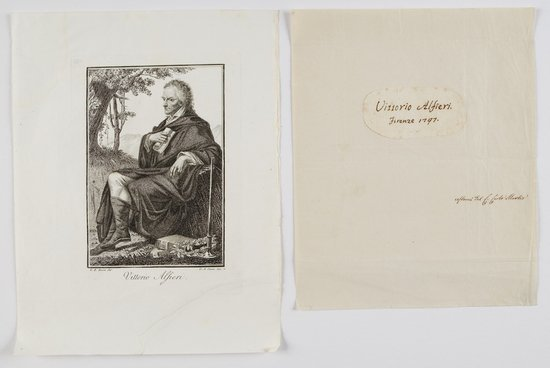 2: Alfieri, Vittorio Firma autografa