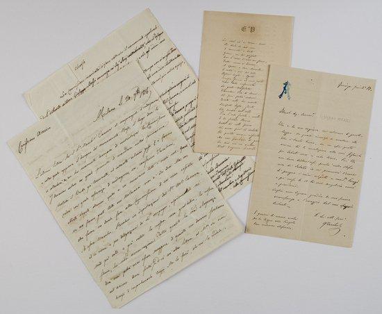 18: Berchet, Giovanni Lettere autografe firmate e poes