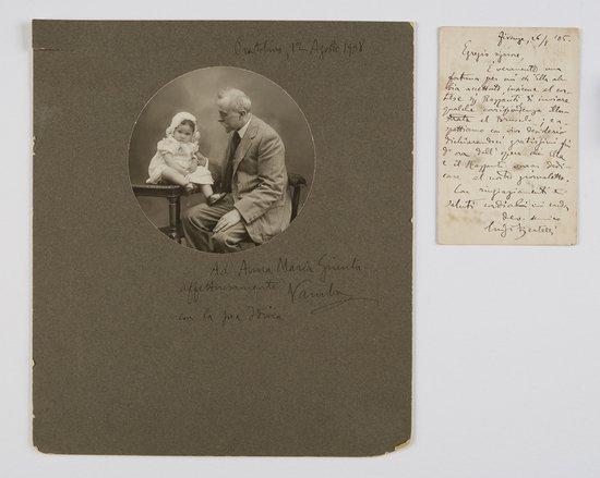 19: Bertelli, Luigi [Vamba] Una cartolina postale auto