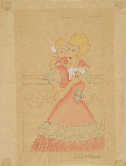 20: Bertiglia, Aurelio Disegno