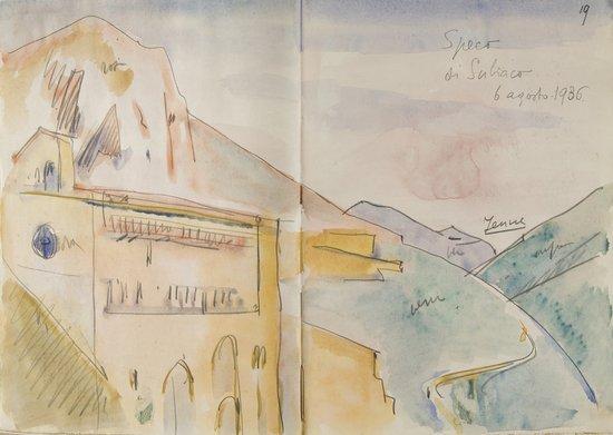 200: Lazio meridionale - Bucci, Anselmo Album di vedute