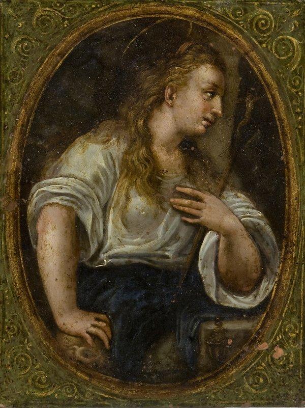 18: Scuola emiliana, secolo XVII Maddalena penitente