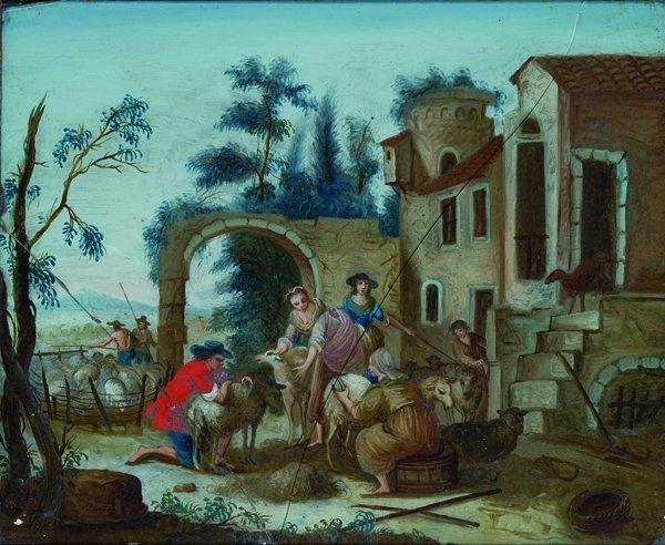 20: Scuola veneta, secolo XVIII Allegoria dell'Autunno