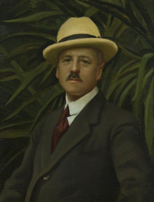 172: Alfredo Protti (Bologna 1882 - 1949)  Ritratto di