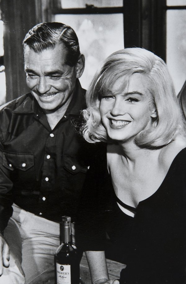 6: Inge Morath (1923-2002) Marilyn Monroe and Clarke Ga