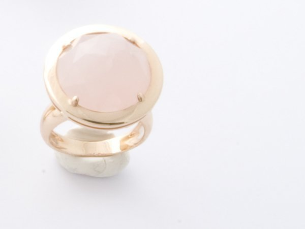 3: Anello in oro rosa 18 kt