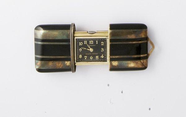 18: Orologio pendente Movado, modello Ermeto in argento