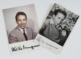 11: Bongiorno, Mike Foto cartoline autografate