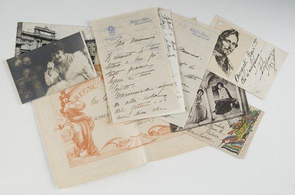 20: Caruso, Enrico Documenti relativi alla famiglia Gia