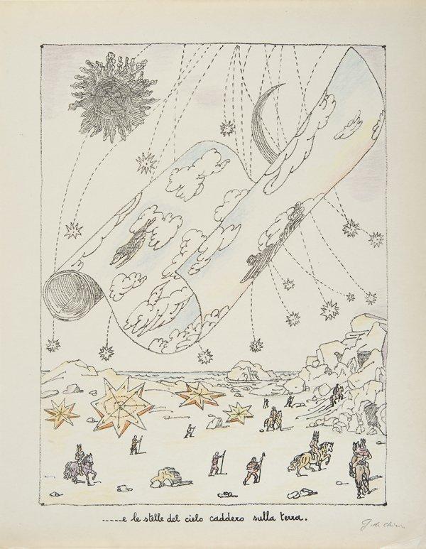 247: Libro d'artista - de Chirico, Giorgio L'Apocalisse