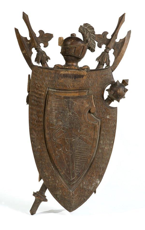 15: Stemmi nobiliari in legno, Scuola europea secolo XI