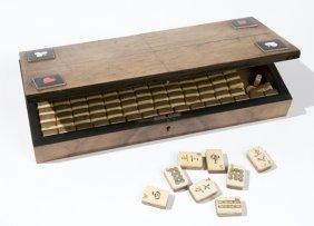 17: Gioco Mahjong, secolo XX