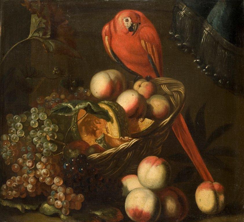 Adrian van Utrecht (Antwerp 1599 – 1652)  Uva, pesche,
