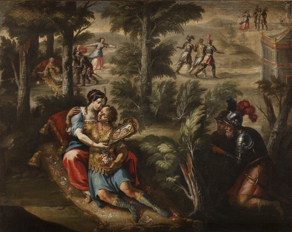 Scuola veneta, secolo XVIII Rinaldo e Armida
