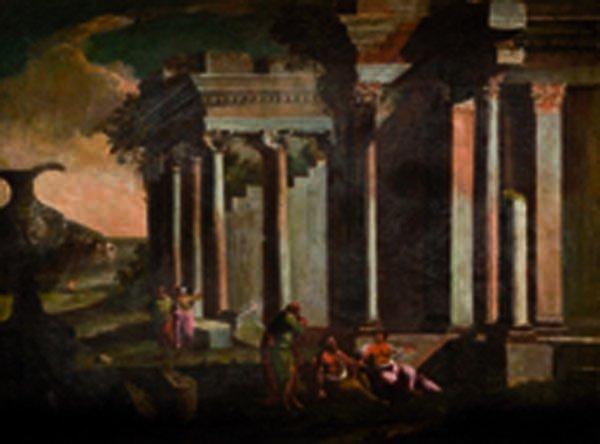 Cerchia di Leonardo Coccorante (Napoli 1680 - 1750 circ